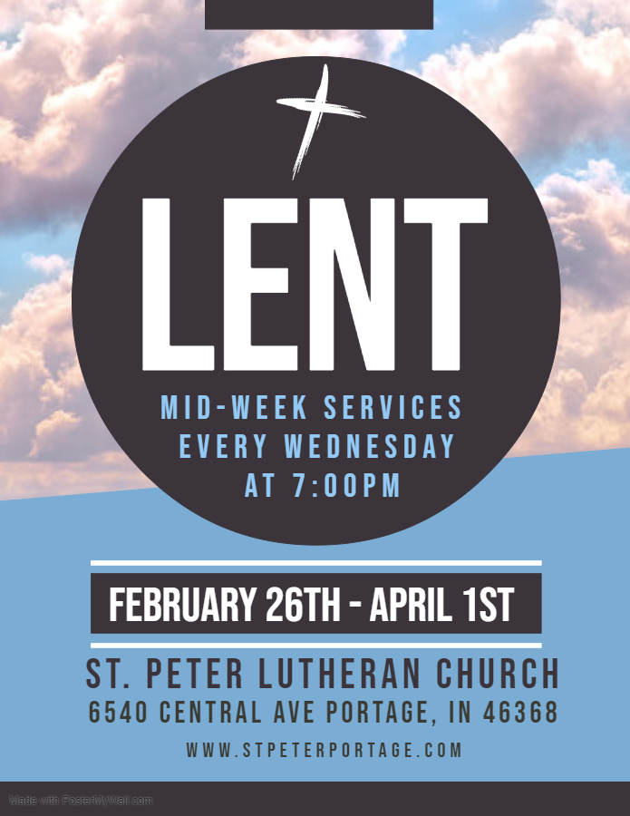 Copy of Lent - Made with PosterMyWall